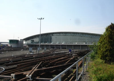 Railway depot survey