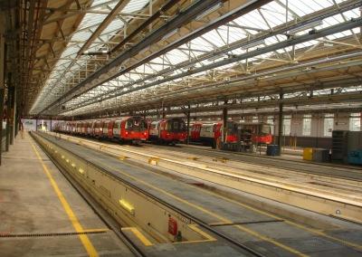 Condition Survey – Railway depot