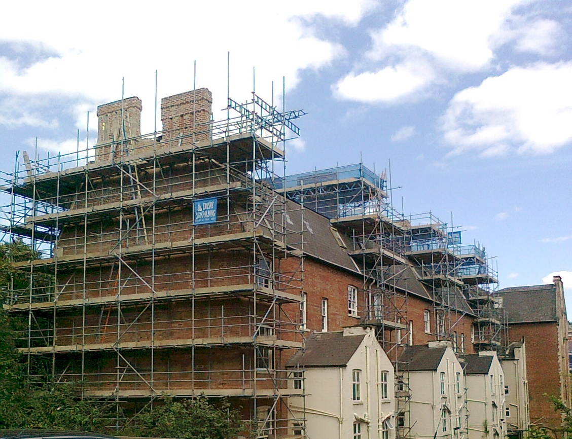Listed building restoration