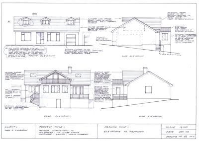 Design for Bungalow Loft Conversion
