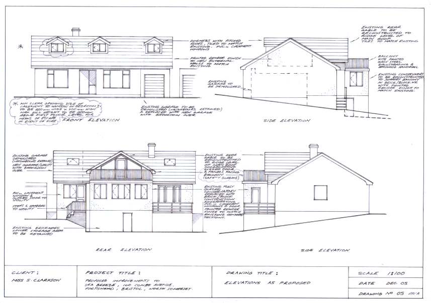 Design for Bungalow Loft Conversion